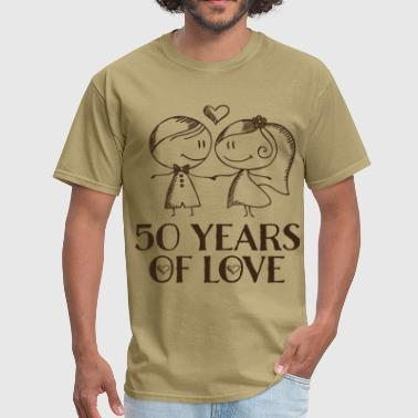 50th Anniversary Married Couples - Men's T-Shirt