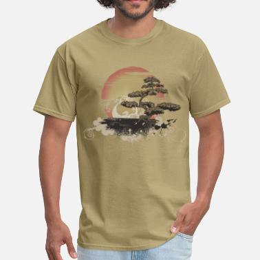 Car Scene Bonsai Scene - Men's T-Shirt