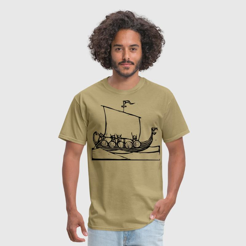 Viking Ship - Men's T-Shirt