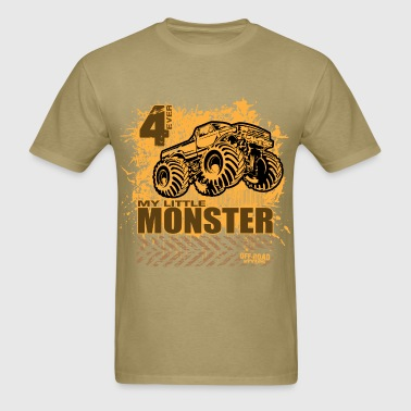 My Little Bigfoot Monster - Men's T-Shirt