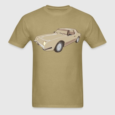 Gold Studebaker Avanti illustration - Autonaut.com - Men's T-Shirt