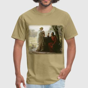 Bloch Bloch - Woman at the Well - Men's T-Shirt