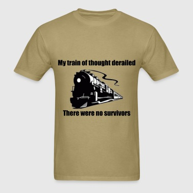 Train Of Thought - Men's T-Shirt