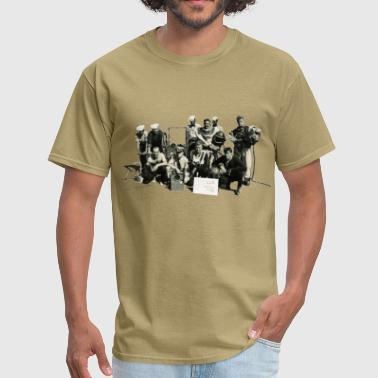 US Navy Team of Divers with Diving Helmets - Men's T-Shirt