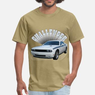 White Challenger - Men's T-Shirt