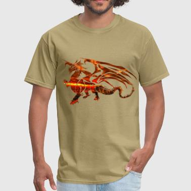 Magma Magma Dragon - Men's T-Shirt