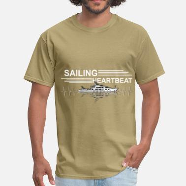Sail Tops Sailing - Heartbeat - Men's T-Shirt