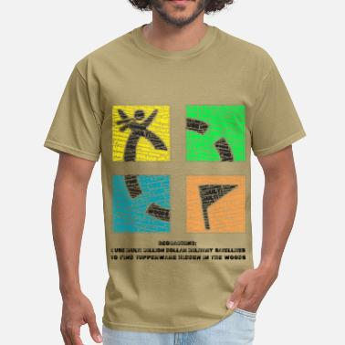 Tupperware Geocaching - Men's T-Shirt