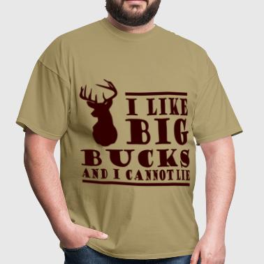 BIG BUCKS2356.png - Men's T-Shirt