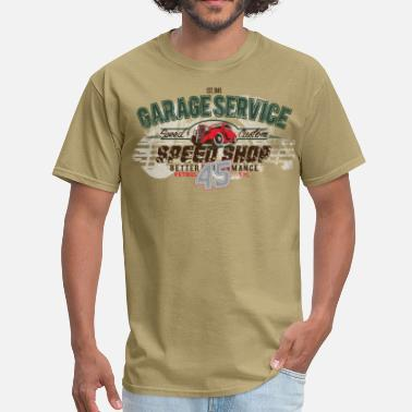 Speed Garage Garage Service - Men's T-Shirt