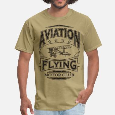 Aeronautical Aviation Aircraft Flying - Men's T-Shirt