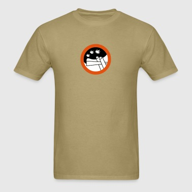 roadsign spliff - Men's T-Shirt