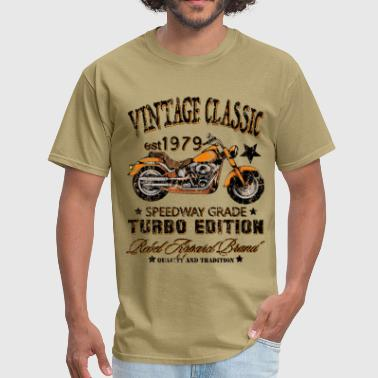Vintage Classic Motorcycle - Men's T-Shirt