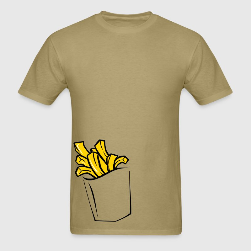 FRENCH FRIES POCKET - Men's T-Shirt