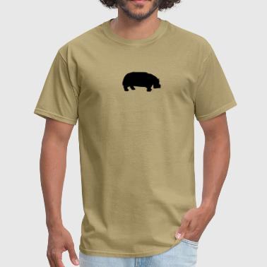 hippo - Men's T-Shirt