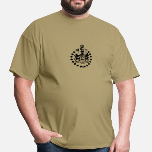 dc9c772f23aa Canadian Forces Chief Warrant Officer CANADA Army Men s T-Shirt ...