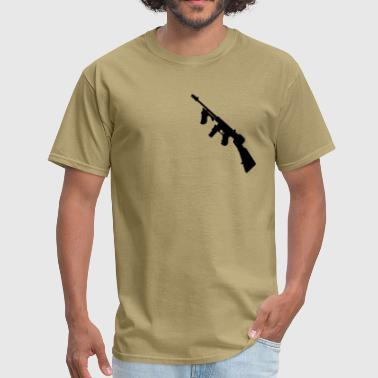 Submachine Gun thompson  gun - Men's T-Shirt