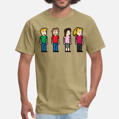 8 Bit 8 Bit People - Men's T-Shirt