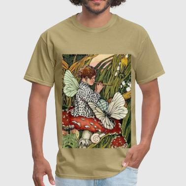 The Musical Mushroom Fairy - Men's T-Shirt