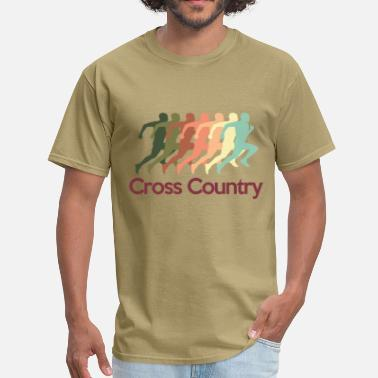 Cross cross_country - Men's T-Shirt