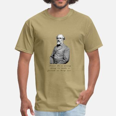 Robert Designs Robert E Lee design - Men's T-Shirt