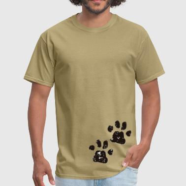 Cat footprint - Men's T-Shirt