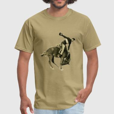 Vintage Rodeo Vintage Rodeo Cowboy and Horse - Men's T-Shirt