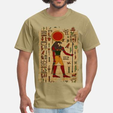 Ancient Egyptian God Egyptian Re-Horakhty  - Ra-Horakht  Ornament  - Men's T-Shirt