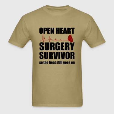 openheart surgery - Men's T-Shirt