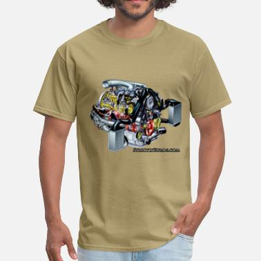 S4 Audi 2.7t Engine - Men's T-Shirt