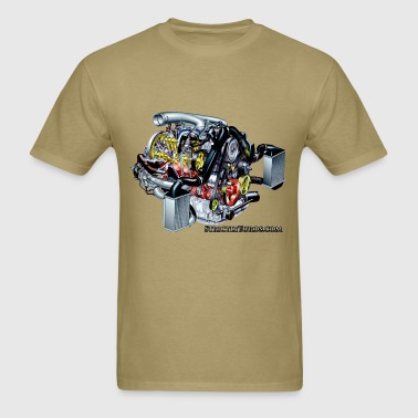 Audi 2.7t Engine - Men's T-Shirt