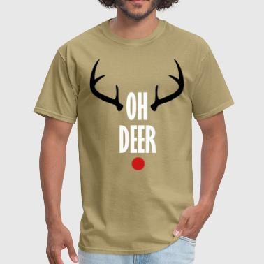 Oh Deer Christmas - Men's T-Shirt