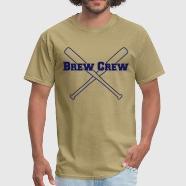 Brew Crew Baseball - Men's T-Shirt