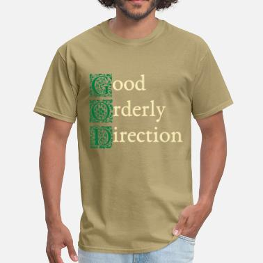 Alcoholics Anonymous GOD..., v1, two-tone - Men's T-Shirt