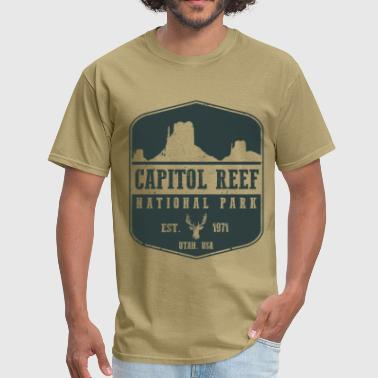 Capitol Reef - Men's T-Shirt