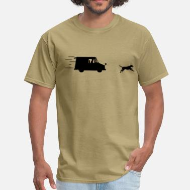 Dog Carrier Chase dog - Men's T-Shirt