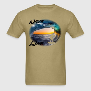 Wave Line 3 - Men's T-Shirt