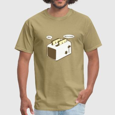 Puns Toaster pun - Men's T-Shirt