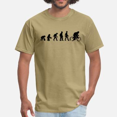 Bicycle Evolution bicycle evolution - Men's T-Shirt