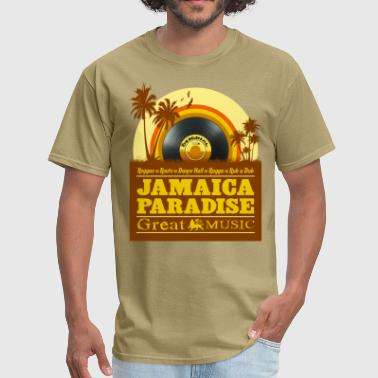 jamaica paradise great music - Men's T-Shirt