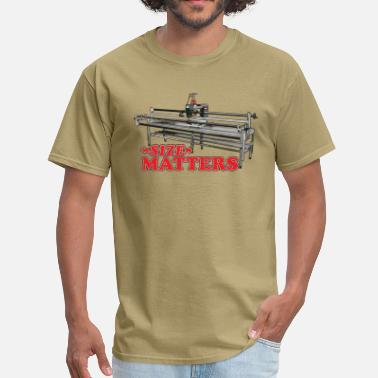 Size Matters (Digital) - Men's T-Shirt