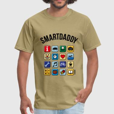 Smartdaddy (Daddy / Dad / POS / PNG) - Men's T-Shirt