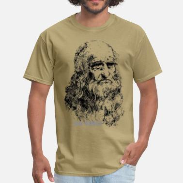 Art Leonardo Da Vinci, Autoportrait - Men's T-Shirt