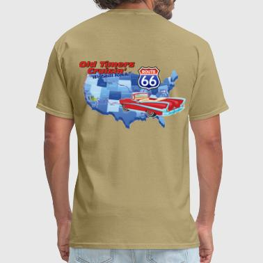 Old Timers Cruisin Cars - Men's T-Shirt