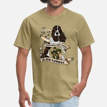 Spaniel gundog_best_friend - Men's T-Shirt