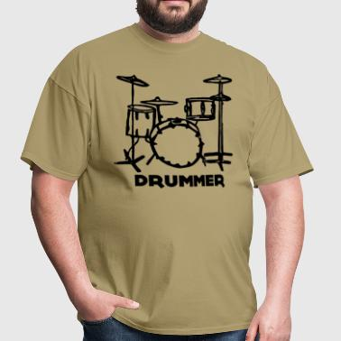 Drummer - Men's T-Shirt