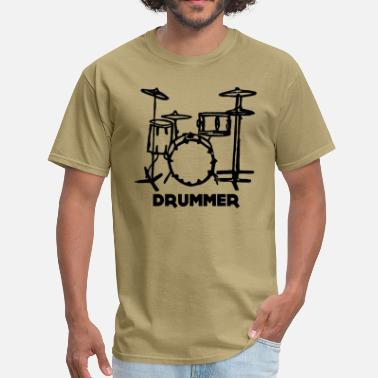 The Drummer Drummer - Men's T-Shirt