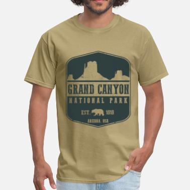 Rim Grand Canyon - Men's T-Shirt