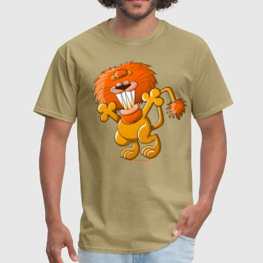 Cool Lion - Men's T-Shirt