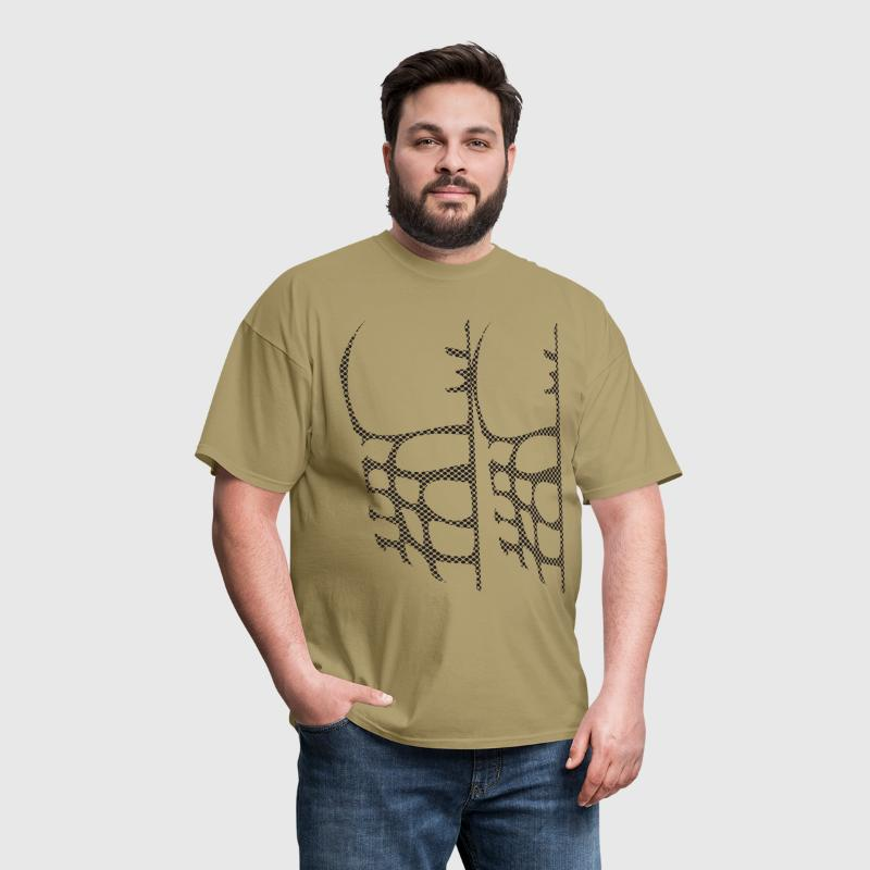 chest muscles Halloween Costume - Men's T-Shirt